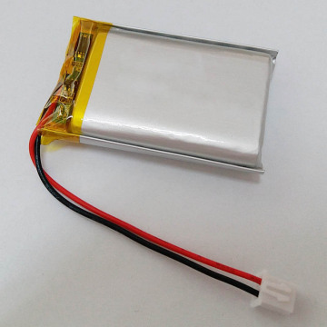 Batterie lithium-ion polymère rechargeable 3.7v 624948