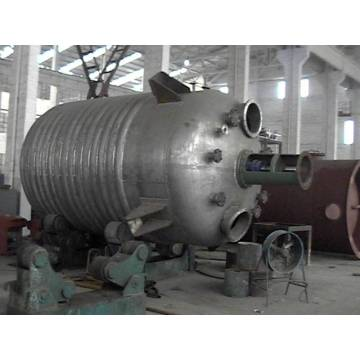 20 Cubic Heating Stainless Steel Outer Coil Reactor