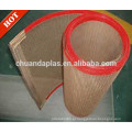 Tamanho personalizado Correia transportadora de malha de plástico Correia transportadora de teflon