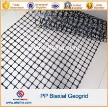 Géogrille biaxiale de pp avec des dimensions d'ouverture 34mmx35mm