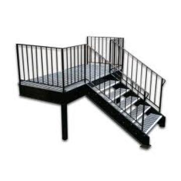 Used for Industrial Ladders Steel Grating Stair