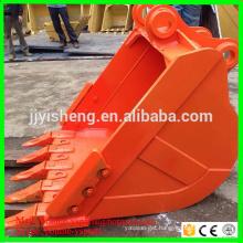 hitachi excavator stardard bucket 0.8-1.0 cbm excavator ex200 bucket capacity