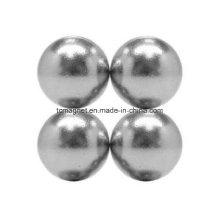 Imanes de la esfera de tierra rara del neodimio de la pulgada 1/2 N48