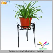 Hot-sale de bonne qualité pot de fleurs en fer forgé Stands de plantes intérieures