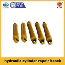 Banco de reparo de cilindros hidráulicos