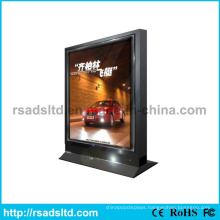 Popular Rotating Scrolling LED Poster Frame Lightbox