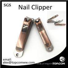 2 Pcs Sharp cortadores de unha Clippers Rose Gold Tone