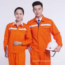 ropa de trabajo del electricista, chaqueta del dril de algodón del trabajo wearable 2016, uniforme de la chaqueta de la ropa de trabajo de la seguridad,