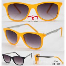 Venda elegante e quente para óculos de sol unissex (wsp510403)