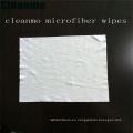 Toallitas de limpieza de alta calidad 70% poliéster y 30% Nylon Spunlance Material Cleanroom toallitas para vidrio, TV, LENTE