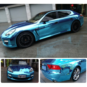 Chrome Mirror Car Vinyl Wrap Film