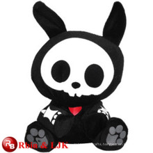 ICTI Audited Factory black rabbit plush toys