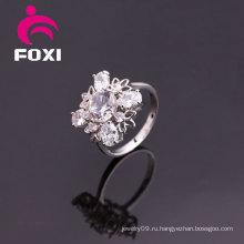 Женские кольца с дизайном белого золота высокого качества