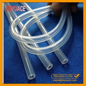 Medical Grade Clear Silicone Rubber Tube