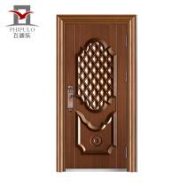 porta exterior principal de aço original principal da porta do modelo