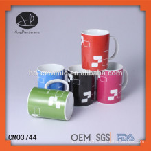 ceramic mug ,coffee mug with customized design,hot sale white blank ceramic sublimation coffee Mug and cup