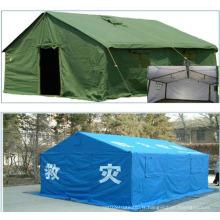 PVC Disaster Relief Tent Tissu avec renforcement tissé