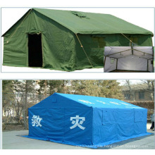 PVC Disaster Relief Tent Fabric with Woven Reinforce