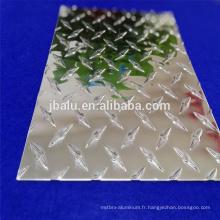 Bande / plaque / bobine gaufrée d'alliage d'aluminium réfléchissant
