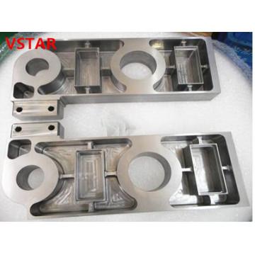 CNC-Bearbeitung Edelstahlteil mit hoher Qualität komplizierten Teil