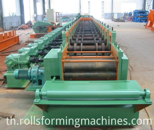 grain storage Curved silo sheet roll forming machine 4