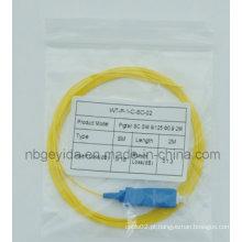 0,9 Sc Sm Fibra Óptica Pigtail
