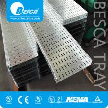 Bandeja de cable perforada flexible para exteriores de producto principal fabricado por BESCA