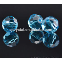 Perle de pavé de diamant facetté de 8 mm