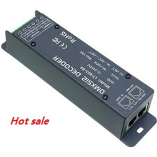 LT-853-6A 3CH CV DMX decoder DMX-PWM DC12-24V input;6A*3CH Max 18A output led controller for RGB LED lights