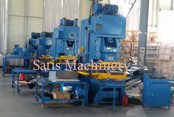 C Type Fin Press Lines