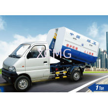 1ton Refuse Collection Truck, Waste Collection Vehicles And Hook Lift Container Garbage Truck, Xzj5020zxxa4