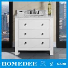 Single Unfinished Oak Wood Bathroom Cabinets Prefab Bathroom Cabinet