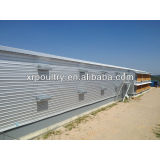 Steel structure poultry house QDXR14C-02F-01