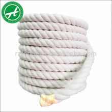 Cuerda trenzada de hilo trenzado de 3 hilos para cuerda de juguete para perro