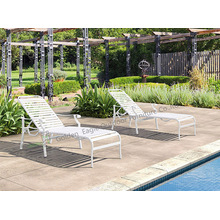 Shore Outdoor Patio Aluminium chaise