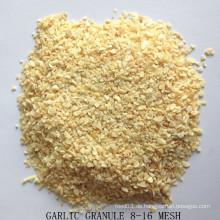 Knoblauch Granulat 8-16 Mesh mit guter Qualität aus der Fabrik