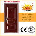 Latest 6 Panel Metal Door Design (SC-S004)