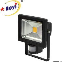 Высокая мощность 10 Вт светодиодные Аккумуляторные Датчик света работы