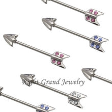 Unique Fancy Ear Piercing Stainless Steel Earrings For Helix Piercing