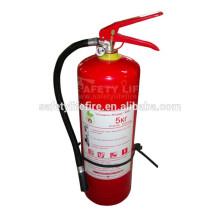 Extincteur de poudre de 5kg / extincteur d'ABC type à vendre / approvisionnement d'extincteur