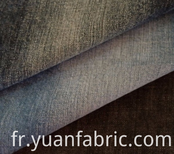 158cotton Spandex Yarn Dyed Woven Stretch Denim Fabric For Jeans