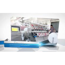 Máquina de costura estofando industrial da fabricação do cobertor da multi agulha CS110