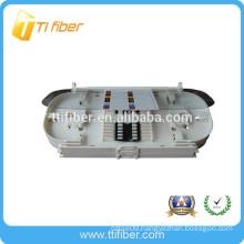 24 cores fiber optic transparent top cover splice tray