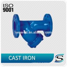 Válvulas de ferro fundido sob encomenda OEM
