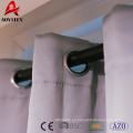 factory ready made home and hotel solid blackout window curtain
