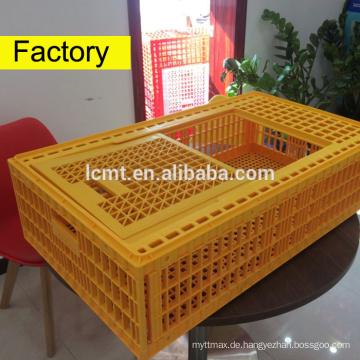 kann 50kg Hühner des Kunststoffgeflügel-Transportkäfigs halten