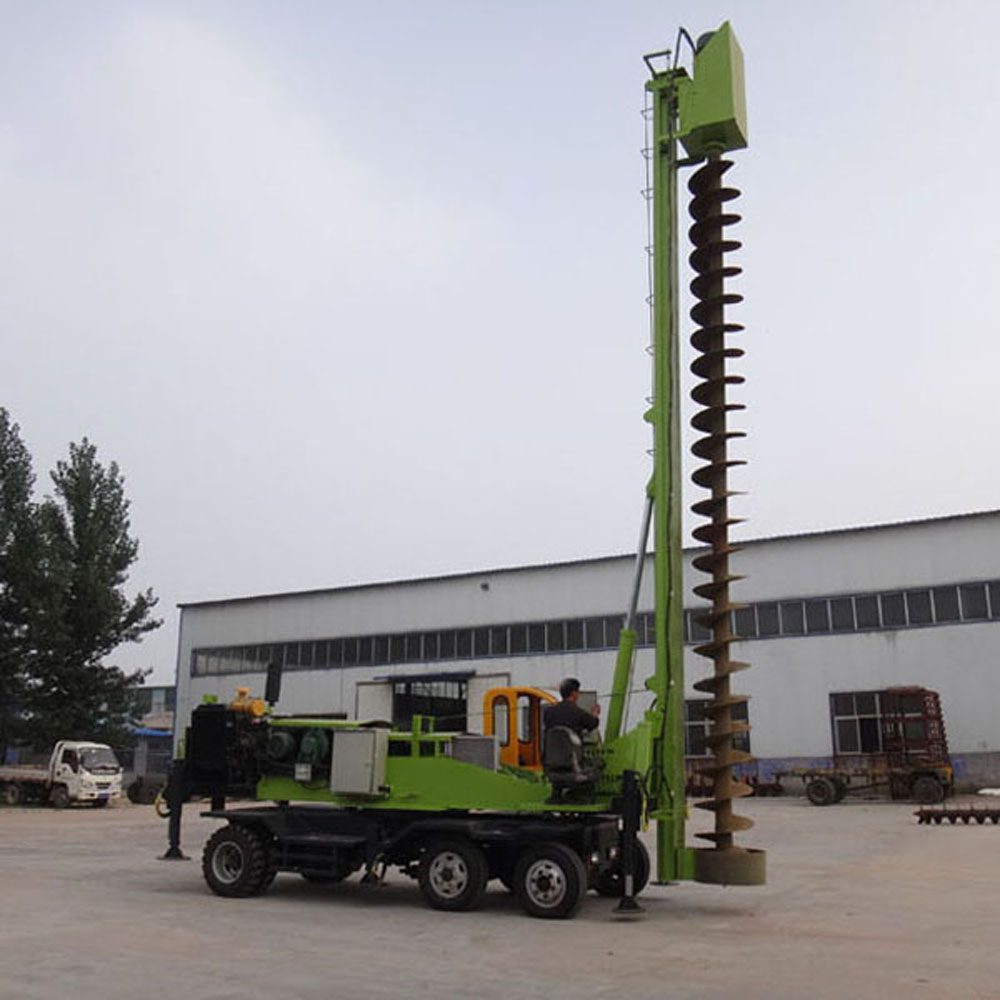 Screw Pile Machine For Sale