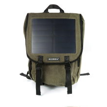 Segeltuch-Material mit 20-30L Kapazität nagelneuer Entwurf Solarrucksack