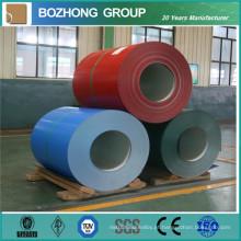 China Fabricação de alumínio Roll Coated Prepainted 6070aluminum Coil / Prepainted Aluminum Coil