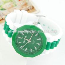 Nuevas corrientes pashmina relojes baratos de silicona